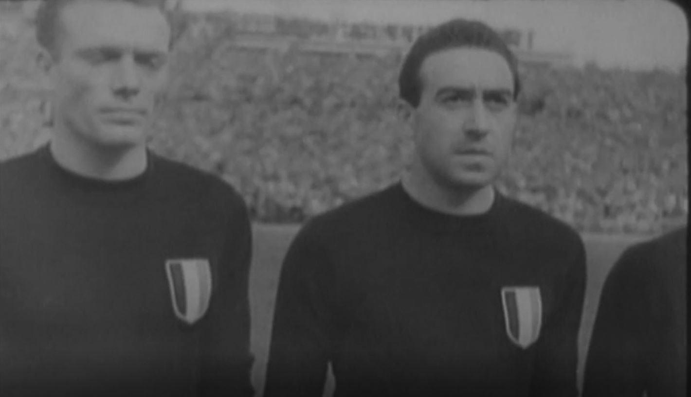 Una pagina del calcio italiano - Spagna-Italia 1949