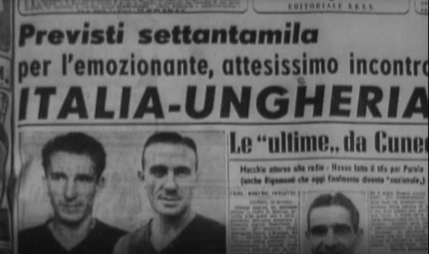 Una pagina del calcio italiano - Italia-Ungheria 1947