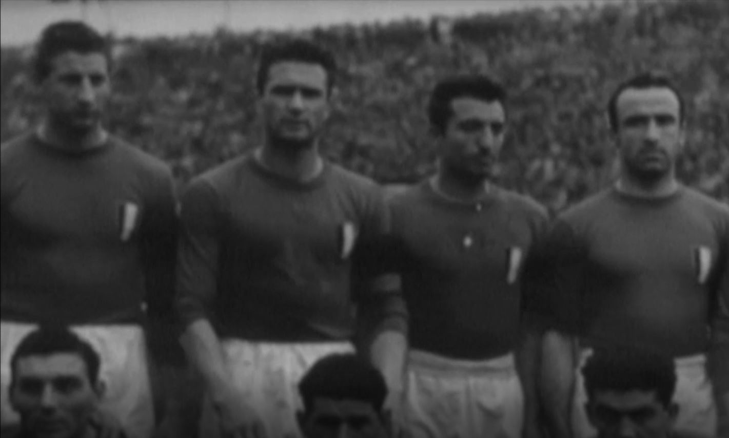 Una pagina del calcio italiano - Italia-Austria 1949