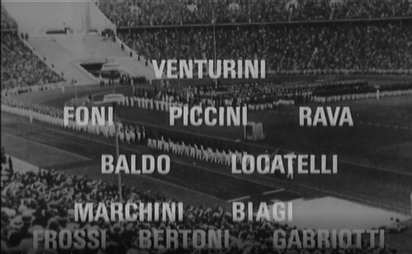 Una pagina del calcio italiano - Italia-Austria 1936