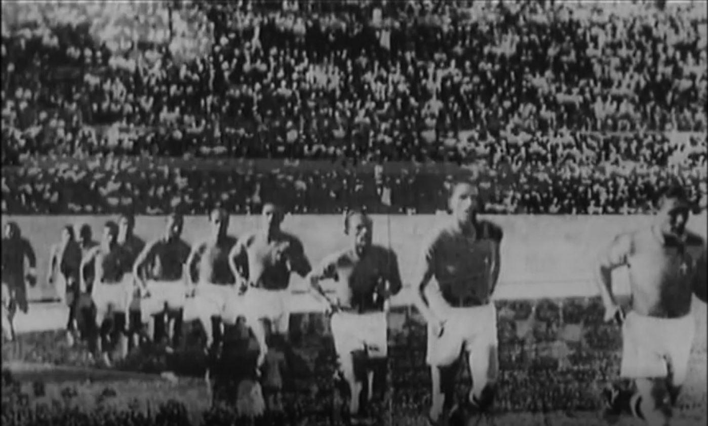 Una pagina del calcio italiano - Italia-Ungheria 1938