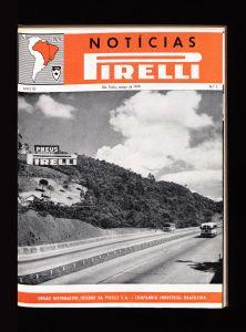 Inglaterra: exposição de pneus Pirelli