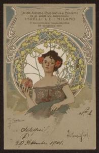 Società Anonima Cooperativa di Consumo fra gli addetti allo Stabilimento Pirelli & C. - Milano I° anniversario inaugurazione 29 settembre 1901