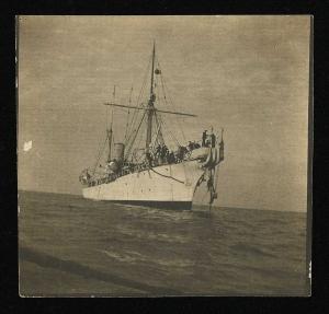 Ing Jona sulla Città di Milano nel Mar Rosso; Città di Milano nel Mar Rosso 1901
