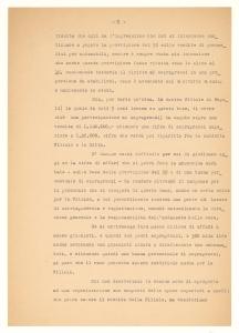 Lettera della Pirelli & C. ad Alfredo Gessaroli