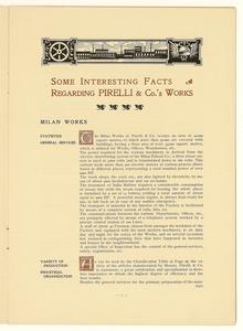Due copie della pubblicazione edita in occasione del 40° anno di attività della Pirelli & C.