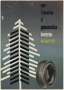 Bozzetto per pubblicità del pneumatico Inverno Pirelli
