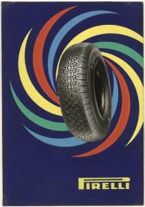 Bozzetto per pubblicità del pneumatico Cinturato Pirelli