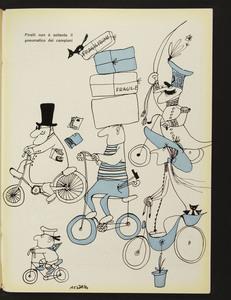 Pubblicità dei pneumatici Pirelli per bicicletta