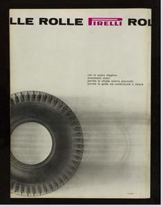 Pubblicità del pneumatico Rolle Pirelli