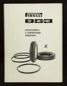 Pubblicità del pneumatico BS3 Pirelli
