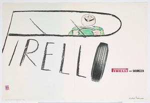 Pubblicità dei pneumatici Pirelli