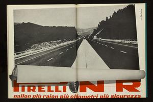 Pubblicità del pneumatico N+R Pirelli