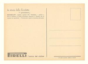 Set di cartoline promozionali Pirelli