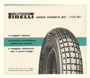 Istruzioni di montaggio dei pneumatici Pirelli per scooter, senza camera d'aria