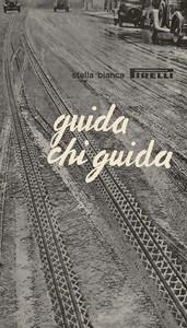 Pubblicità del pneumatico Stella Bianca Pirelli
