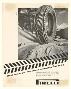 Advertisement for the Pirelli Inverno tyre