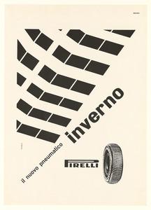 Pubblicità del pneumatico Inverno Pirelli