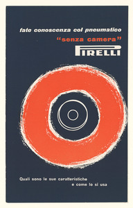 Pubblicità del pneumatico Fakir Pirelli
