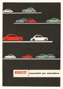 Pubblicità dei pneumatici Stelvio, Cinturato, Rolle, Cisa e Inverno nei loro vari modelli