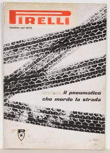 Bozzetto per pubblicità dei pneumatici Pirelli