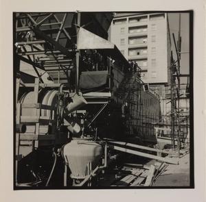 Ottobre 1956, veduta del cantiere del Centro Pirelli