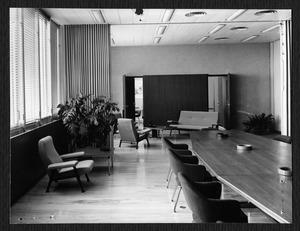 Gli interni del Centro Pirelli - La sala di consiglio