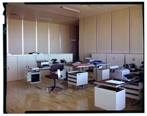 Gli interni del Centro Pirelli - Gli uffici