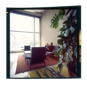 Gli interni del Centro Pirelli - 1970 - foto De Paoli
