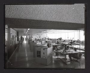 Gli interni del Centro Pirelli - 1970 - foto Facchini
