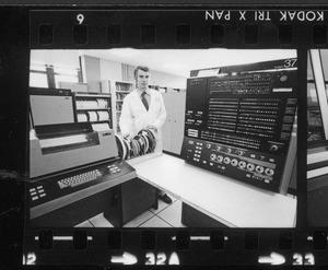 Gli interni del Centro Pirelli - 1974/1975 - foto Nocera