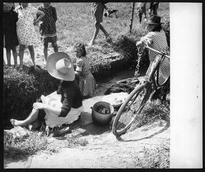 Servizio fotografico sulle biciclette - foto Patellani