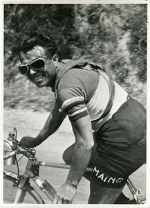 Il corridore ciclista Learco Guerra (1902-1963) nel 1932