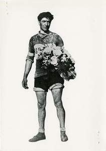 Il corridore ciclista Giovanni Brunero nel 1923