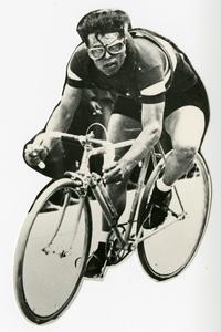 Il corridore ciclista Learco Guerra (1902-1963)