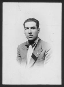 Il pilota Camillo Montini, che corse con motociclette Rudge equipaggiate con pneumatici Pirelli