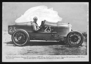 Il pilota Carlo Salamano nel 1922