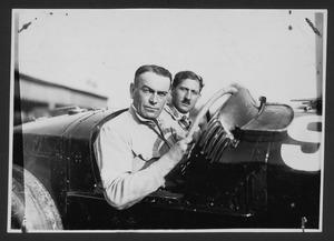Il pilota Louis Wagner