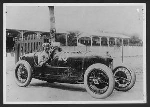 The driver Antonio Ascari