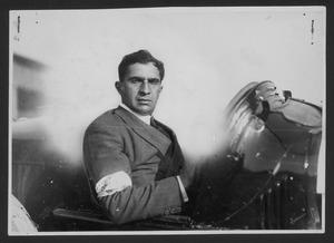 The driver Ferdinando Minoia