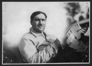 Il pilota Giuseppe Campari