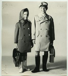 Impermeabile Chery e trench-coat Bobby, in doppio tessuto di cotone